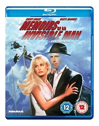 memoirs of an invisible man blu ray