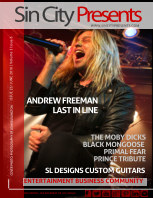 Sin City Presents Magazine June 2016