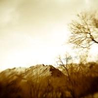 Lensbaby Mountain - Sepia Winter   Blurbomat.com