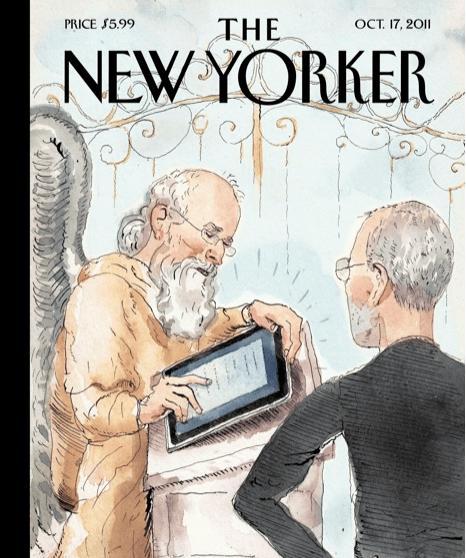 New Yorker Steve Jobs Cover
