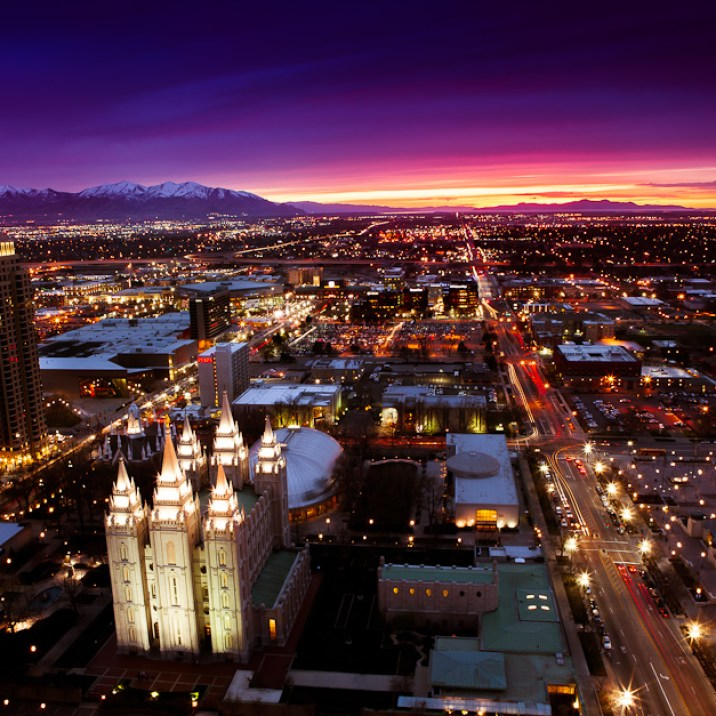 25 Seconds Over Salt Lake City | Blurbomat.com