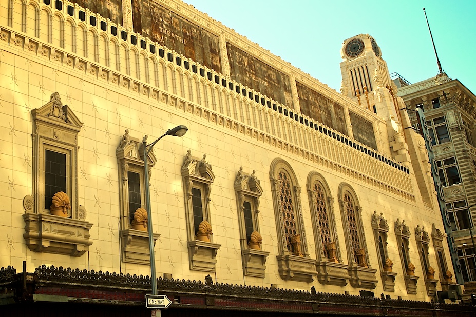 Backside of Tower Theater