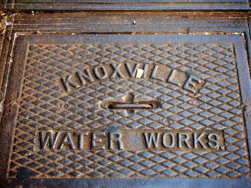 Knoxville Water Works - manhole cover, Knoxville, Tennessee | Blurbomat.com