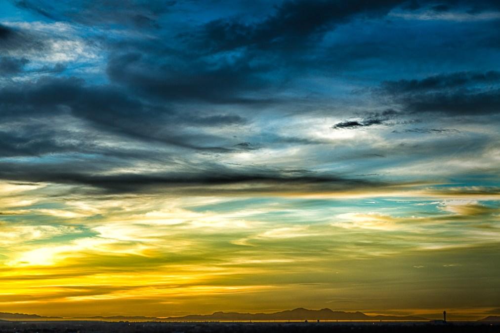 Utah Sunset – Still cold at night