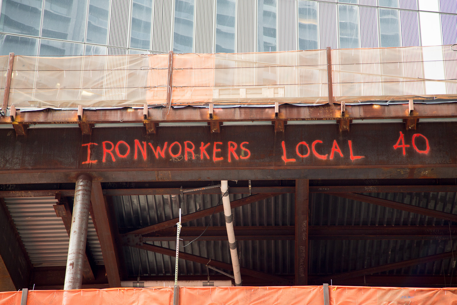 Near Ground Zero – Ironworkers Local 40