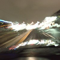 Driving in a Snowstorm | Blurbomat.com