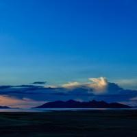 Antelope Island Storm | Blurbomat.com