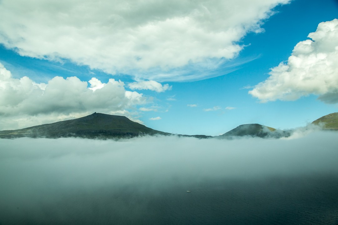 Layers of clouds in the Faroe Islands. by Jon Armstrong for Blurbomat.com.
