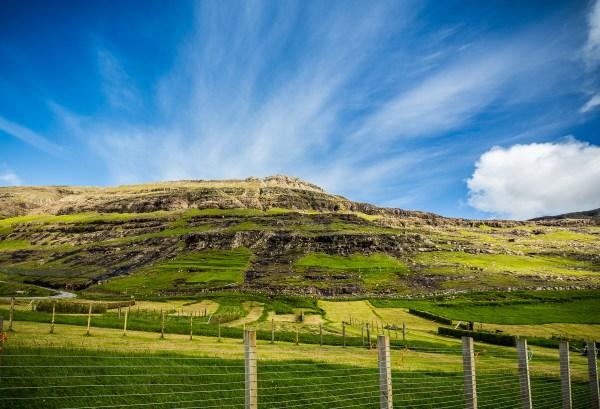 Tjørnuvík, Faroe Islands, July 15, 2014.