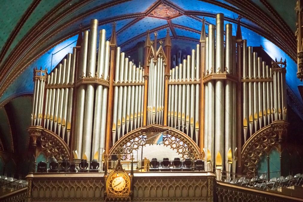 Notre-Dame Basilica Pipe Organ