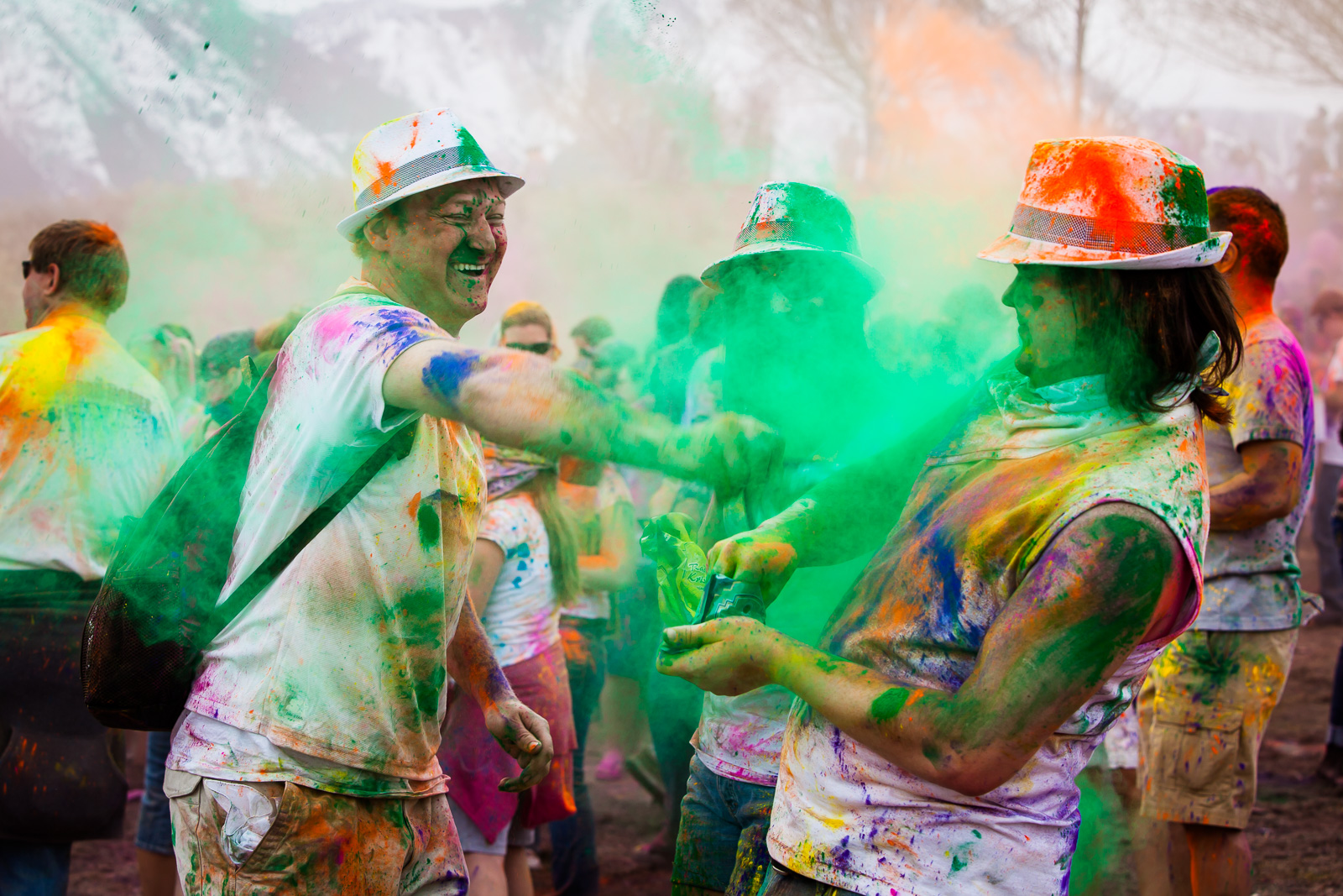 holi festival of colors 2012
