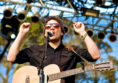 Jeff Tweedy - Wilco - Outside Lands, 2008 | Blurbomat.com