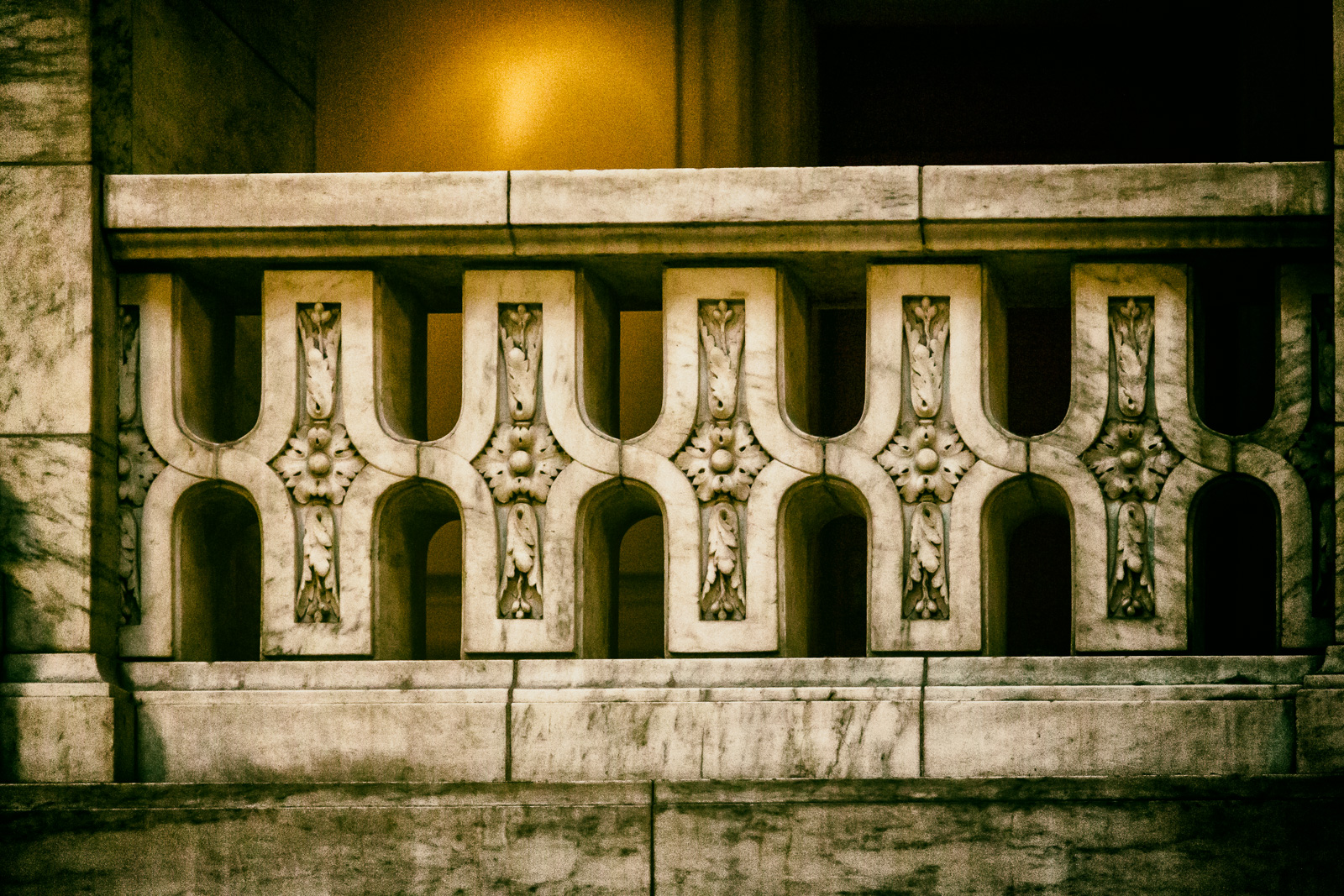 Stone Bannister