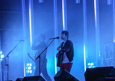 Ed O'Brien & Thom Yorke of Radiohead, Outside Lands, 2008