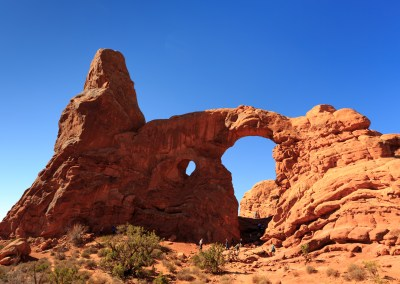 Turret Arch, Arches National Park. October, 2016.