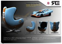 Amazing Auto Racing Inspired Chairs By Racing & Emotion ...