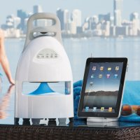 Summer Must Have:  The Outdoor Wireless Speaker and Dock by Brookstone