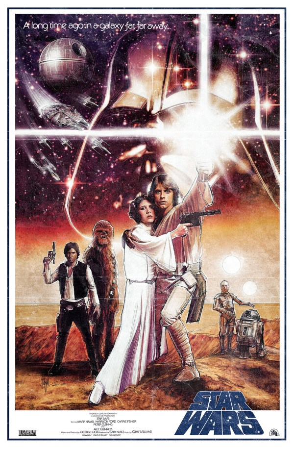 Star Wars a New Hope Original Movie Poster