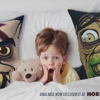 "Strange Kids Club & Horror Decor Launch Petrifying Pillow Collection: ""Cuddle Creeps"""
