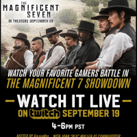 Watch 7 Of Today's Top Gamers Battle On Twitch's Magnificent 7 Showdown