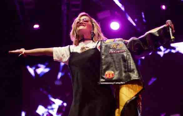 Rita Ora at L.A. PRIDE 6/11/16. Photo by Derrick K. Lee, Esq. (@Methodman13)