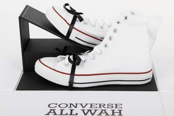 CONVERSE INTRODUCES NEW SNEAKER WITH BUILT-IN WAH GUITAR PEDAL