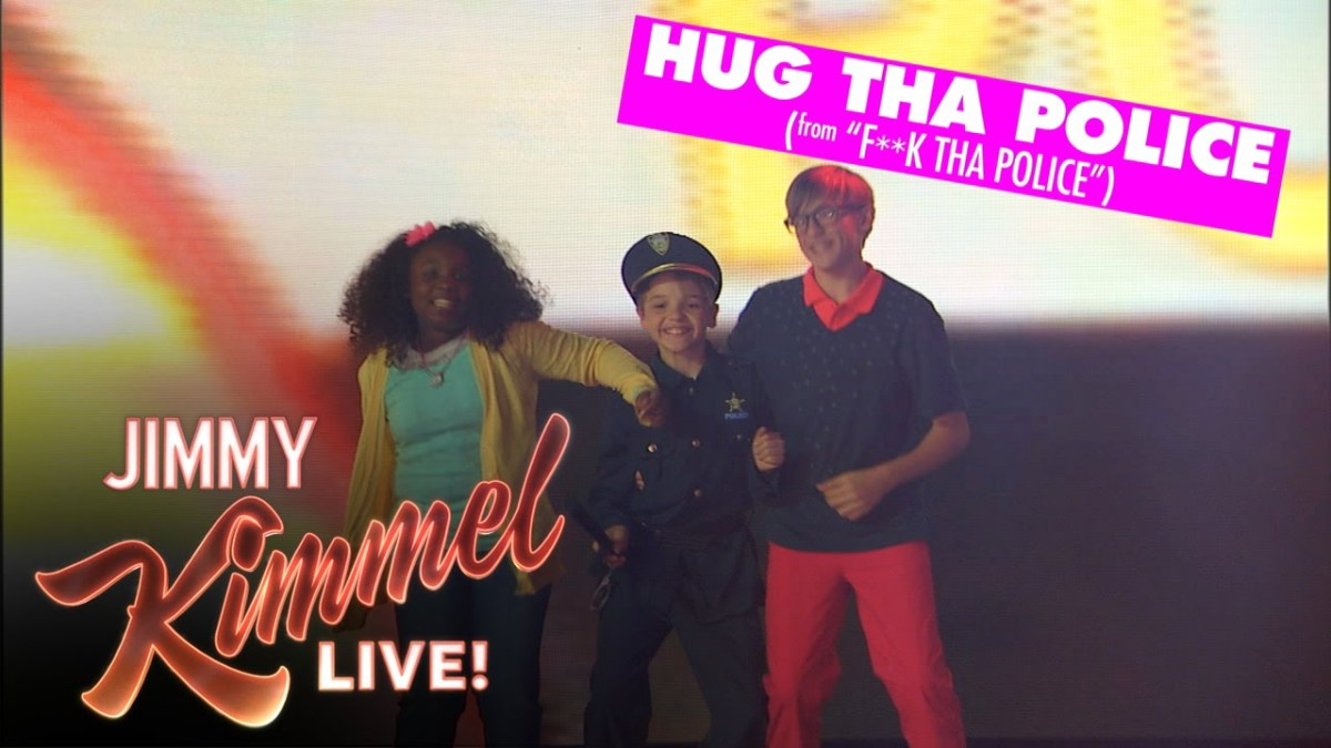 ICE CUBE, A$AP ROCKY, BIG SEAN CREATE KIDZ BOP VERSIONS OF THEIR SONGS ON 'JIMMY KIMMEL'