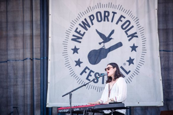 The Staves at Newport Folk Festival 7/22/16. Photo by Cortney Armitage (@CortneyArmitage) for www.BlurredCulture.com.