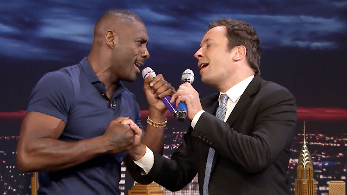 Jimmy Fallon's Box of Microphones with Idris Elba