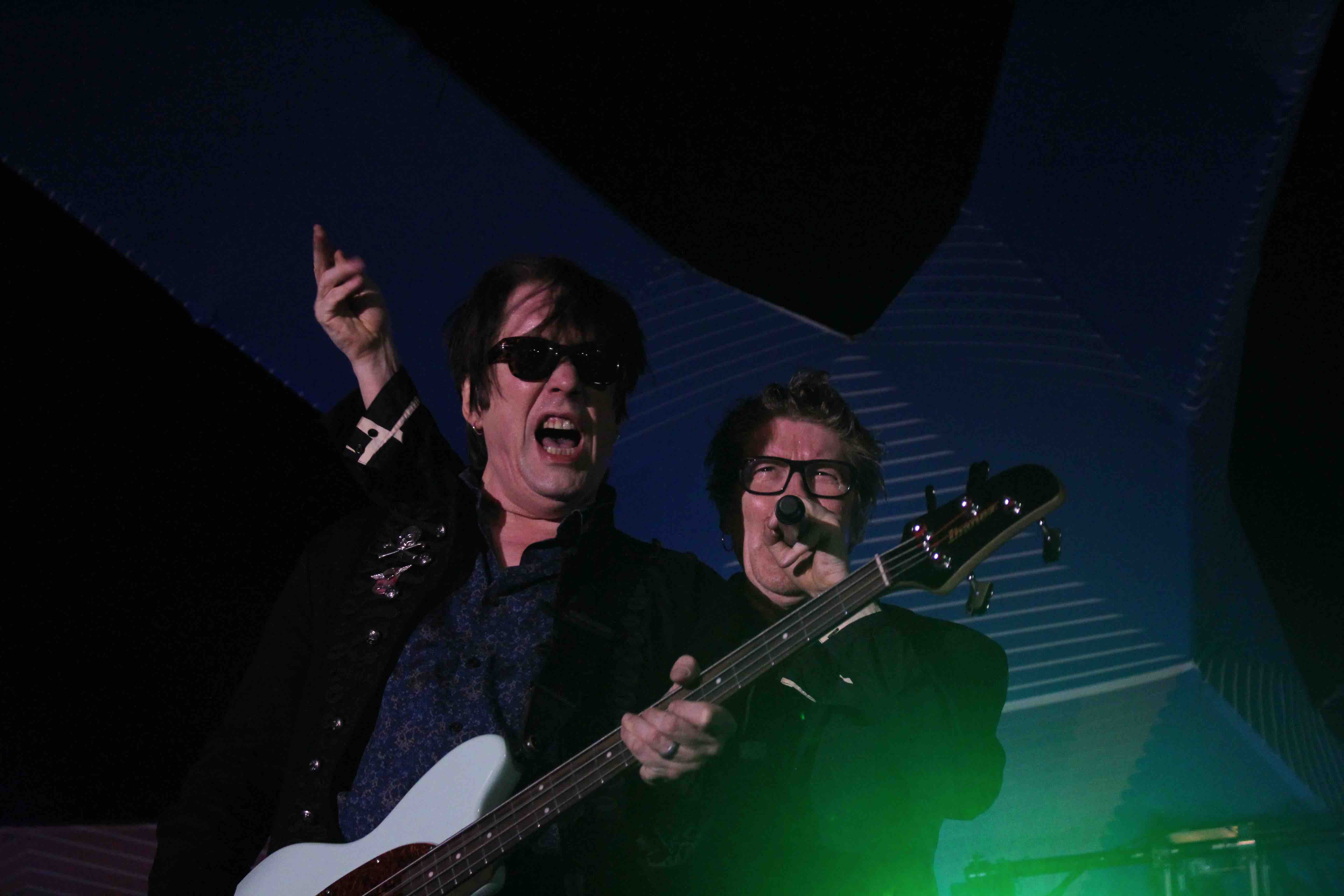 The Psychedelic Furs at Santa Monica Pier's Twilight Concert 7/21/16. Photo by Olivia Post (@livestosea).