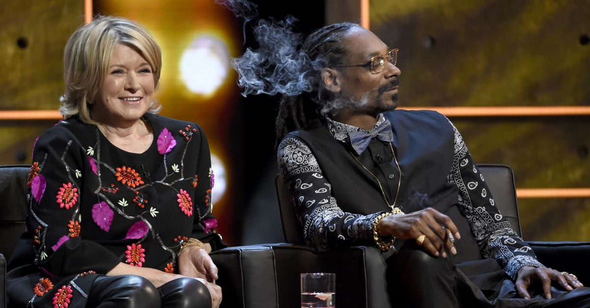 SNOOP DOGG TO STAR IN COOKING SHOW ALONGSIDE MARTHA STEWART