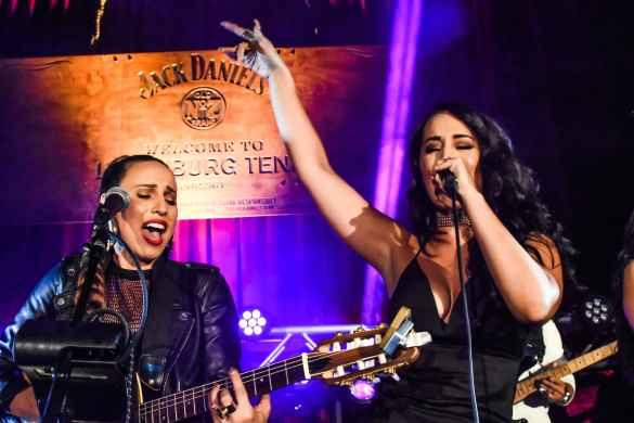 "Angelica Rahe & Victoria La Mala 8/23/16 @ Mack Sennett Studios   Jack Daniel's ""Amplify Your Life""   Photo by Constantin Preda (@ctpredaportraits) for www.BlurredCulture.com."