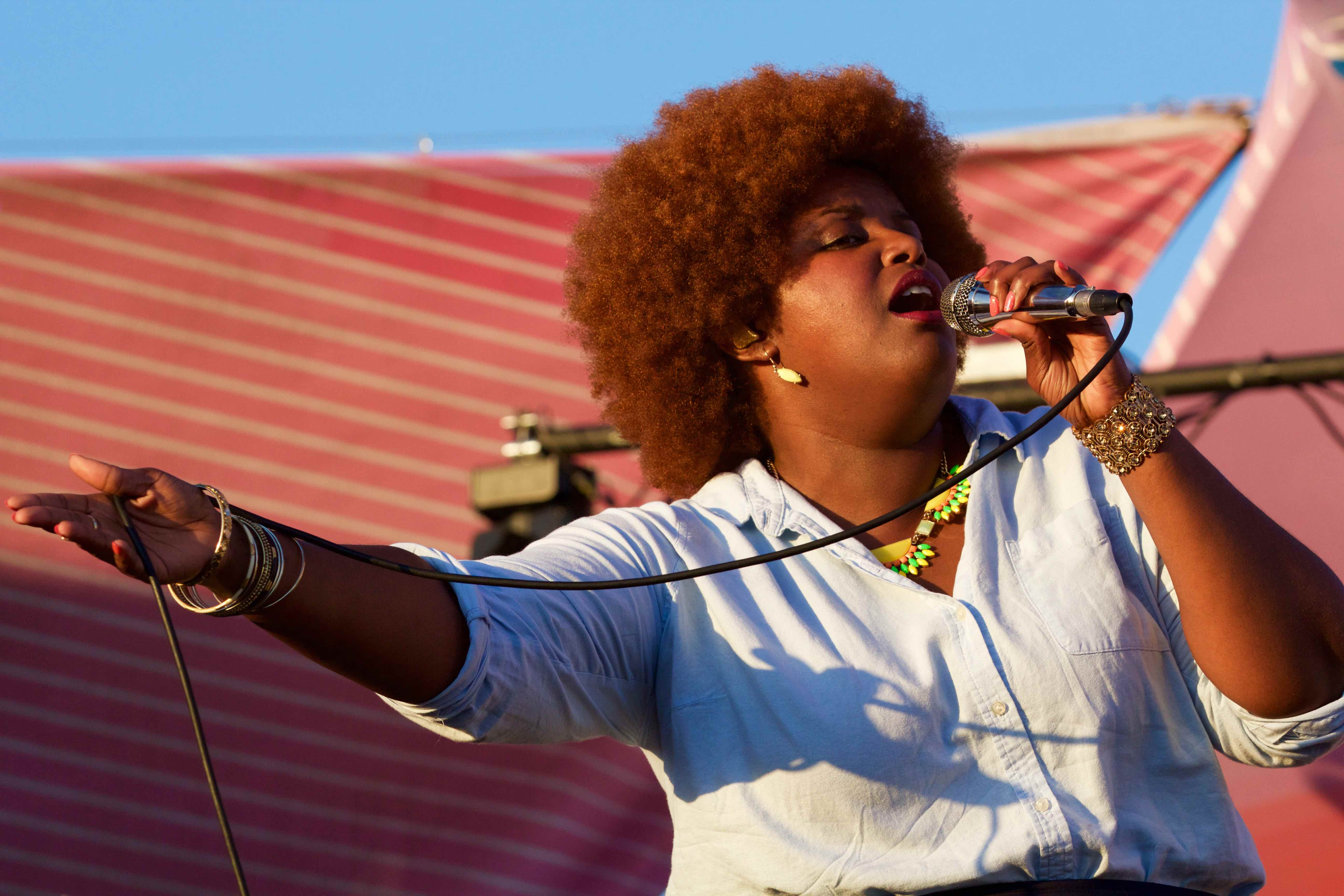 The Suffers at Santa Monica Pier's Twilight Concert 8/18/16. Photo by Derrick K. Lee, Esq. (@Methodman13) for www.BlurredCulture.com.