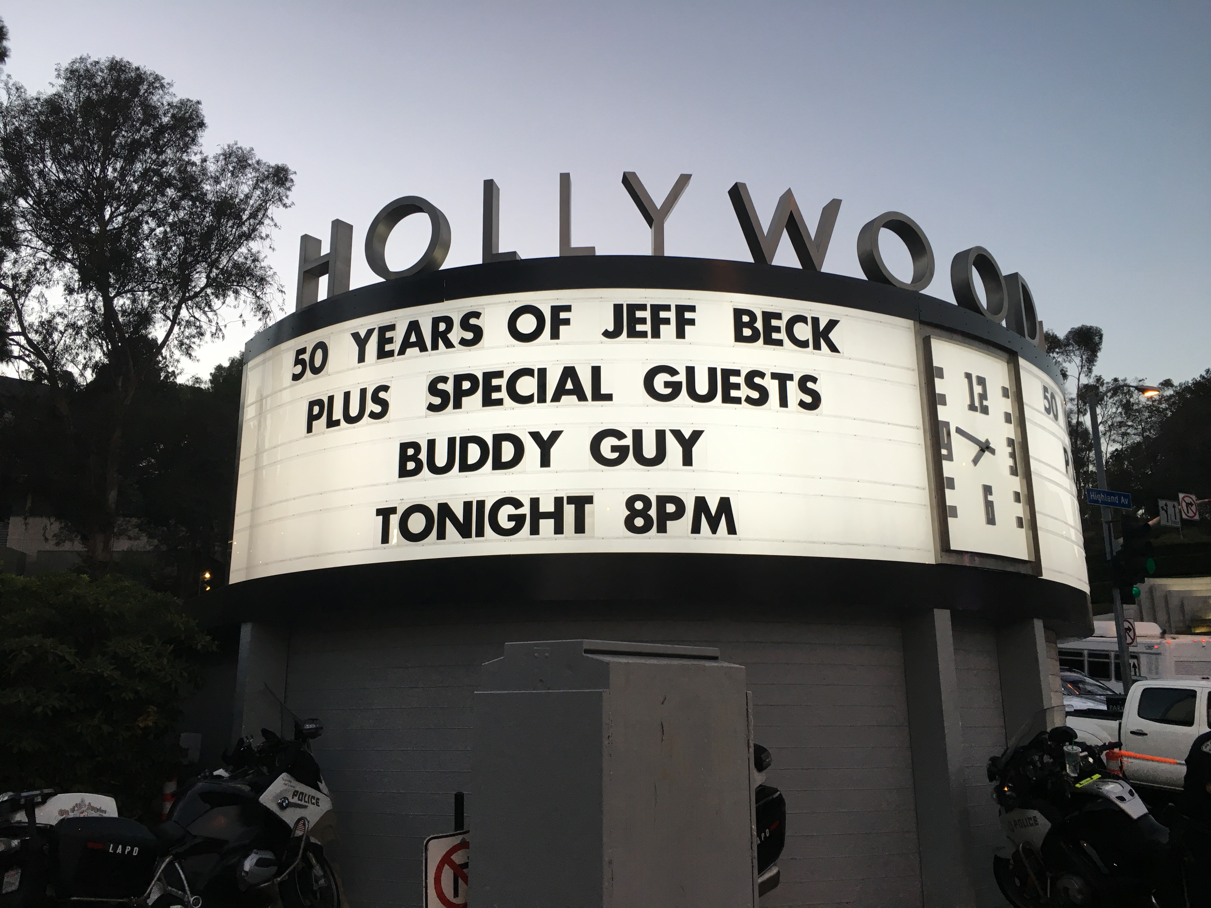 Buddy Guy at Hollywood Bowl 8/10/16.