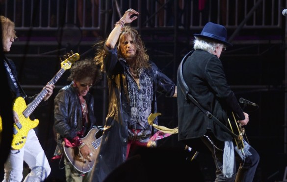 Aerosmith at KAABOO 2016, September 17th. Photo by Derrick K. Lee, Esq. (@Methodman13) for www.BlurredCulture.com.