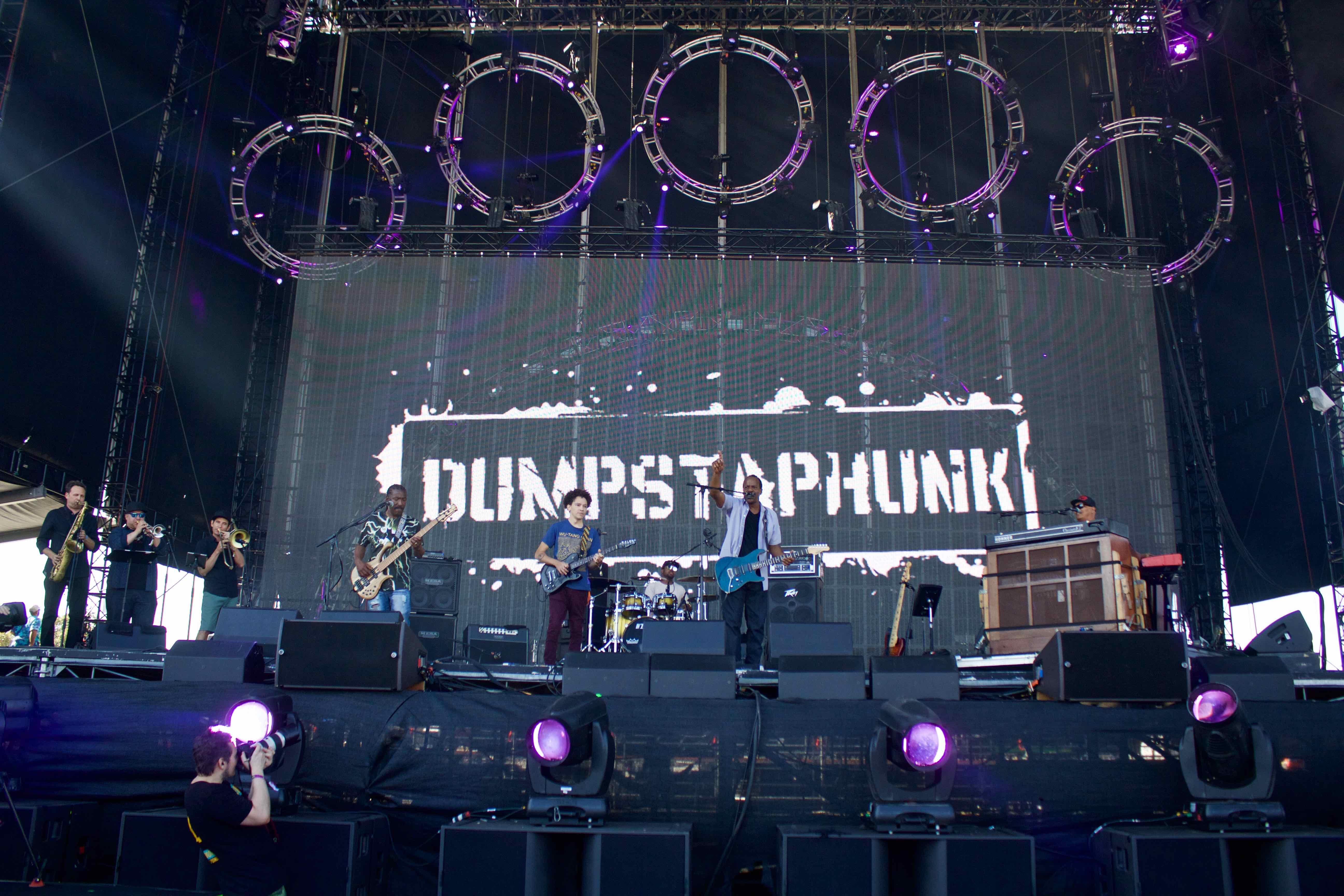 Dumpstaphunk at KAABOO 2016, September 16th. Photo by Derrick K. Lee, Esq. (@Methodman13) for www.BlurredCulture.com.