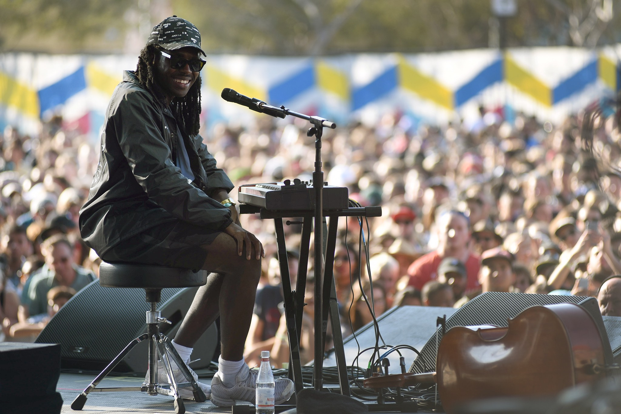 Blood Orange 8/28/16 @ Fuck Yeah Fest. Photo by Jose Negrete for FYF Fest. Used With Permission By www.BlurredCulture.com.