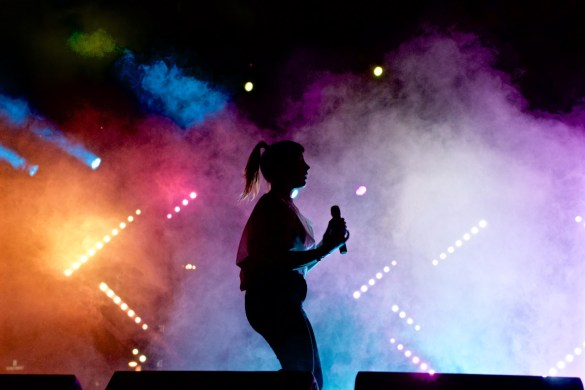 Sylvan Esso at Music Tastes Good 2016, September 25th. Photo by Derrick K. Lee, Esq. (@Methodman13) for www.BlurredCulture.com.