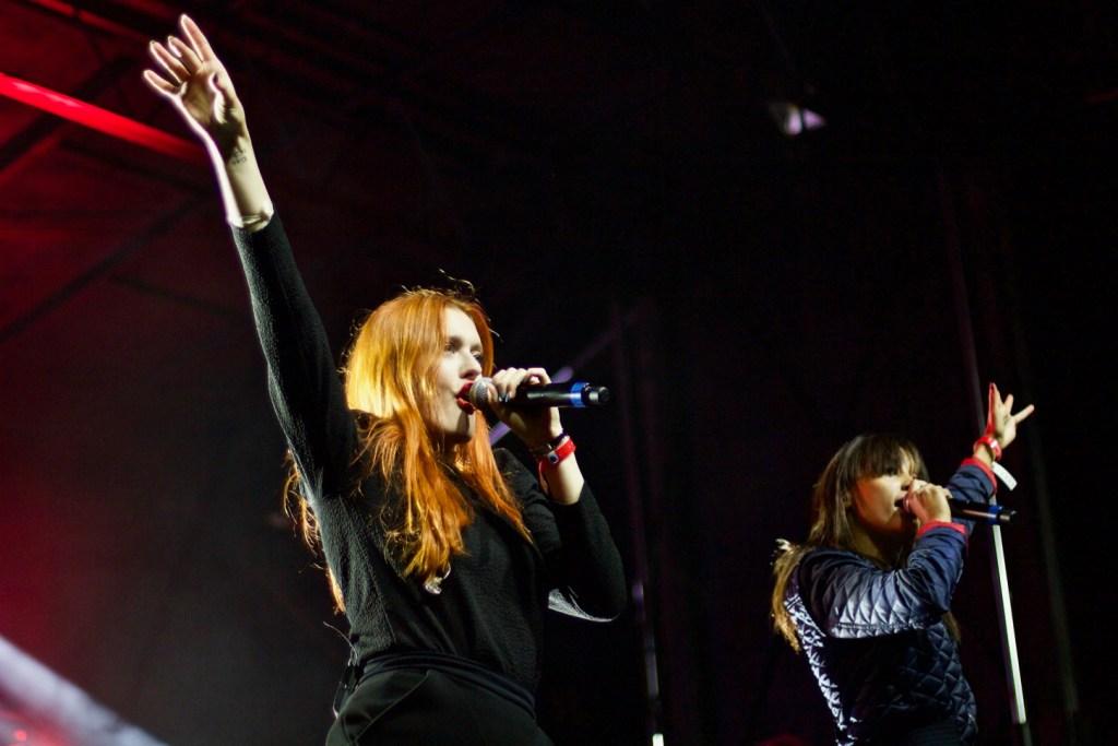 Icona Pop @ Stockholm, CA 10/15/16. Photo by Derrick K. Lee, Esq. (@Methodman13) for www.BlurredCulture.com.