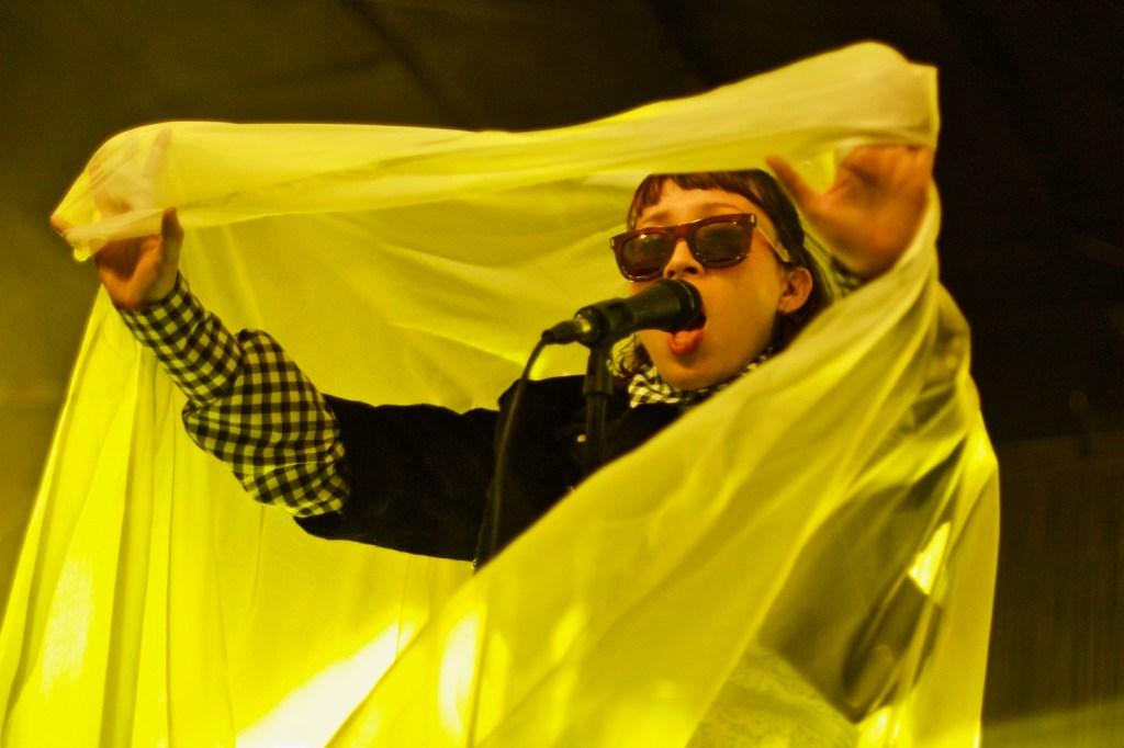 Little Dragon @ Stockholm, CA 10/15/16. Photo by Derrick K. Lee, Esq. (@Methodman13) for www.BlurredCulture.com.