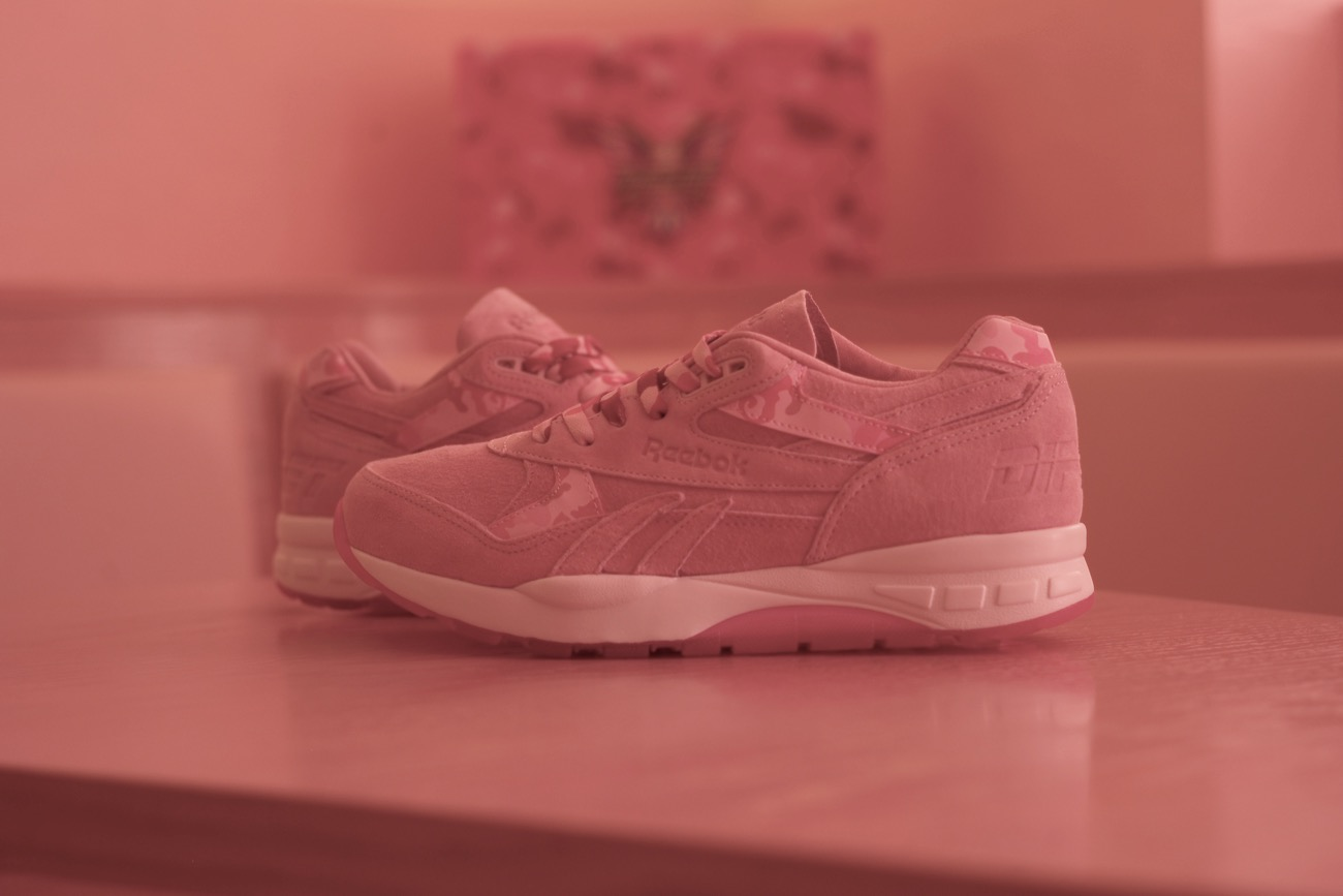 Cam'ron's Reebok Ventilator Supreme. Photo courtesy of M&C Saatchi Sports & Entertainment. Used With Permission.
