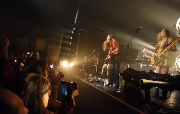 HAIM @ Fonda Theatre 11/15/16. Photo by Raymond Lew (@RayyLeww). Used With Permission.