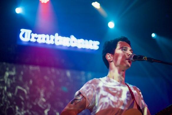 Lukas Frank @ Troubadour 12/17/16. Photo by Derrick K. Lee, Esq. (@Methodman13) for www.BlurredCulture.com.