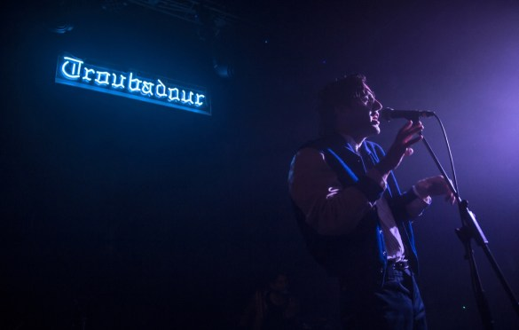 James Supercave @ Troubadour 12/17/16. Photo by Derrick K. Lee, Esq. (@Methodman13) for www.BlurredCulture.com.