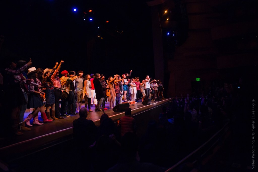 Las Cafeteras @ VPAC 12/6/16 | Photo courtesy of Valley Performing Arts Center | Luis Luque | Used With Permission