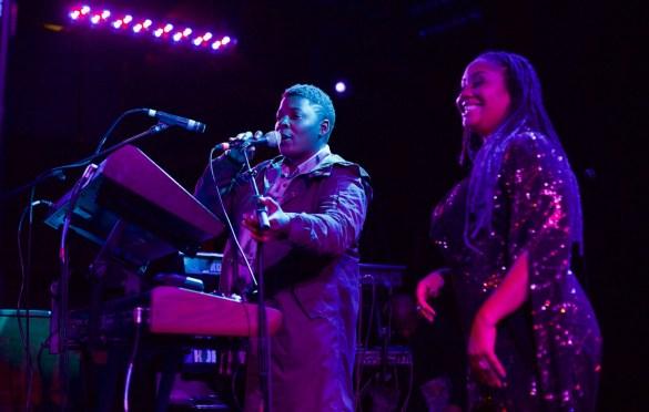 Tiffany Gouche. Lalah Hathaway & Friends @ Troubadour 2/10/17. Photo by Derrick K. Lee, Esq.(@Methodman13) for www.BlurredCulture.com.