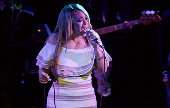 Faith Evans. Lalah Hathaway & Friends @ Troubadour 2/10/17. Photo by Derrick K. Lee, Esq.(@Methodman13) for www.BlurredCulture.com.