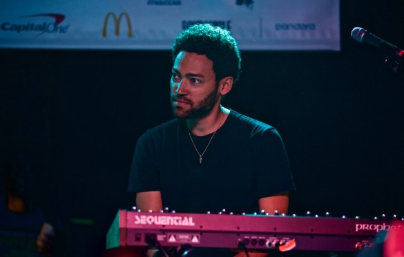 Taylor McFerrin // Robert Glasper & Friends // Heard's Music + Tech Mash-up presented by SPIN, VIBE and Sterogum @ Mazda Studdio at Empire Garage // SXSW 3/13/2017. Photo by Derrick K. Lee, Esq. (@Methodman13) for www.BlurredCulture.com.
