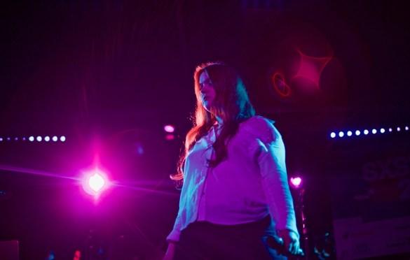 Anna Wise // Robert Glasper & Friends // Heard's Music + Tech Mash-up presented by SPIN, VIBE and Sterogum @ Mazda Studdio at Empire Garage // SXSW 3/13/2017. Photo by Derrick K. Lee, Esq. (@Methodman13) for www.BlurredCulture.com.