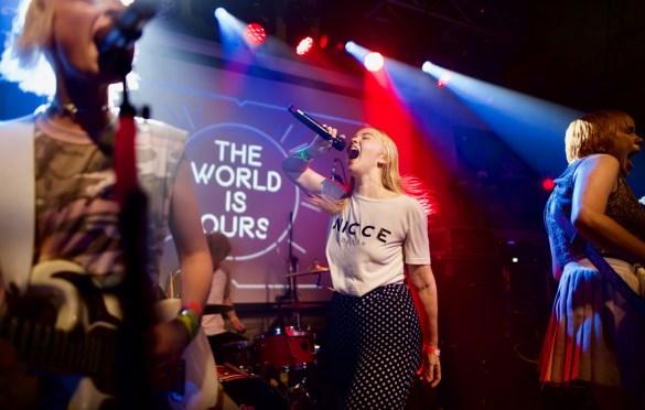 Dream Wife // BBC Radio 1, PPL & PRS Present @ Latitude 30 // SXSW 3/14/2017. Photo by Derrick K. Lee, Esq. (@Methodman13) for www.BlurredCulture.com.